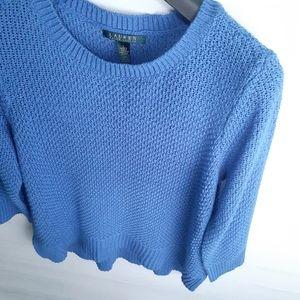 Lauren by Ralph Lauren 3/4 Sleeve Sweater